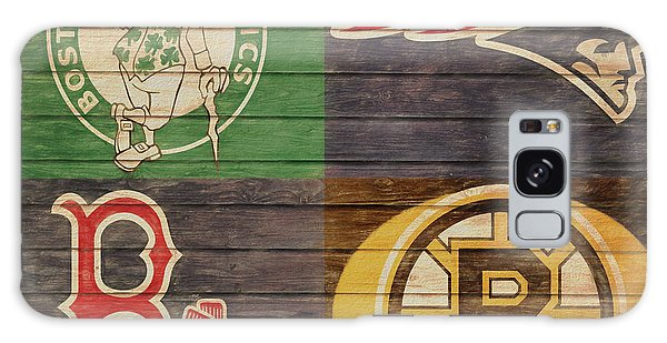 Boston Sports Teams Barn Door Galaxy Case