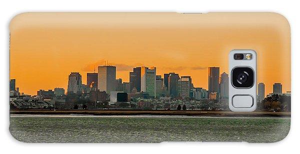 Boston Sunset Galaxy Case