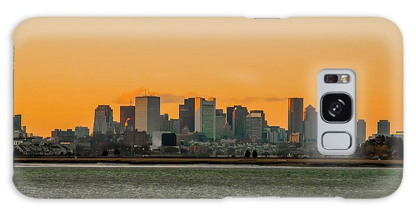 Boston Sunset Galaxy Case
