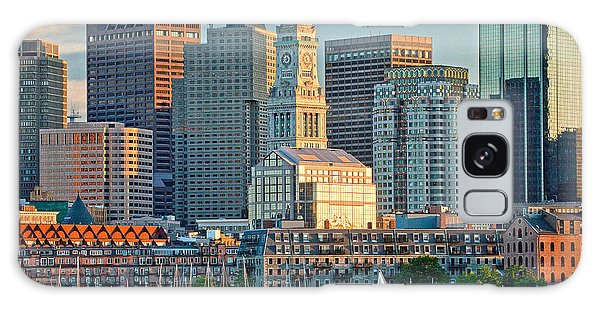 Boston Sunset Sail Galaxy Case