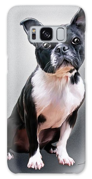 Boston Terrier By Spano Galaxy Case