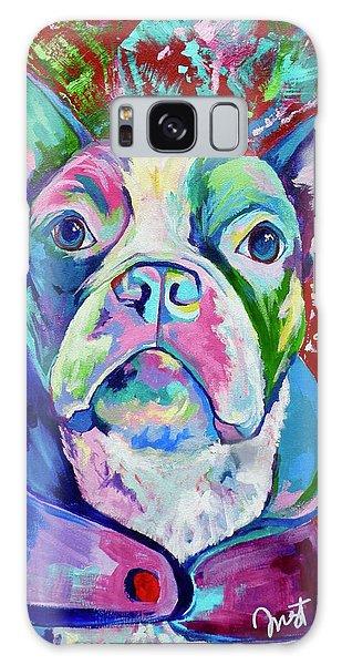 Boston Terrier Galaxy Case