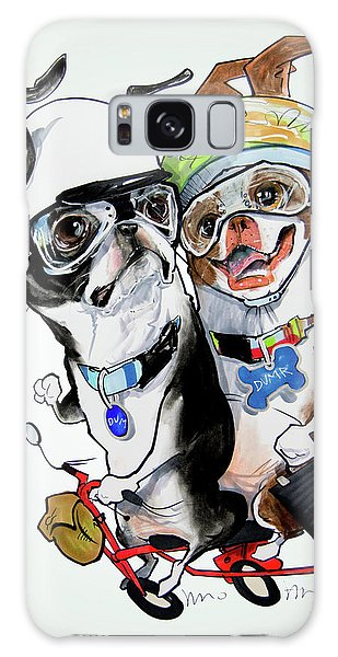 Boston Terriers - Dumb And Dumber Galaxy Case