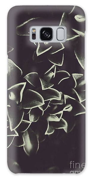 Shrub Galaxy Case - Botanical Blooms In Darkness by Jorgo Photography - Wall Art Gallery