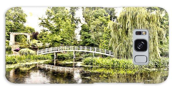 Botanical Bridge - Monet Galaxy Case