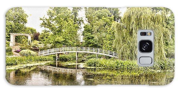 Botanical Bridge - Van Gogh Galaxy Case
