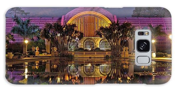 Botanical Building At Night In Balboa Park Galaxy Case