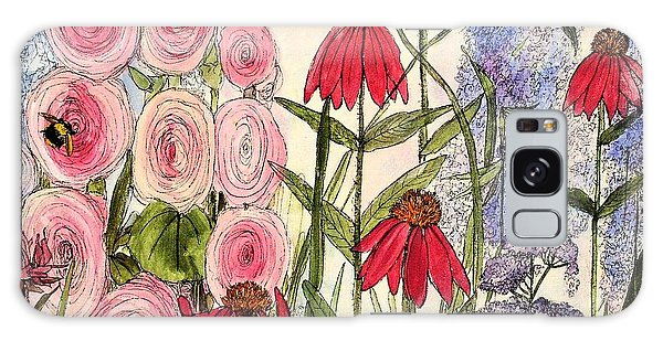 Botanical Wildflowers Galaxy Case