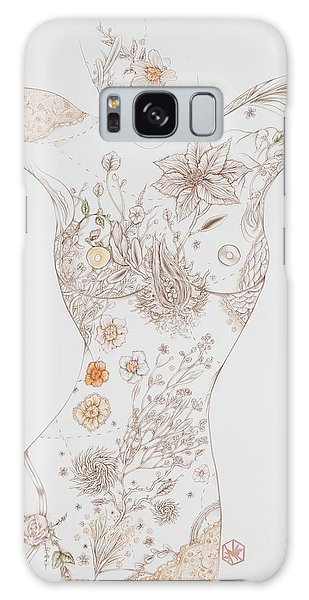 Botanicalia Erica-sold Galaxy Case by Karen Robey