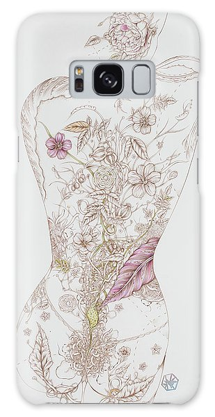 Botanicalia Tristan Galaxy Case by Karen Robey