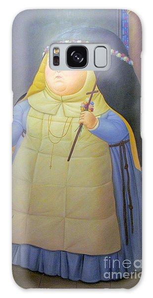 Botero Nunn In Blue Galaxy Case