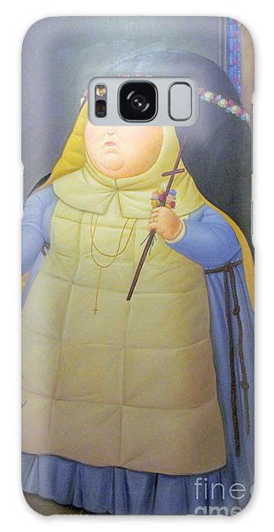 Botero Nunn In Blue Galaxy Case