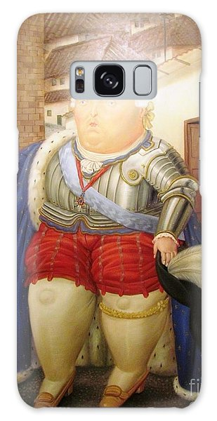 Botero Royal Man Galaxy Case