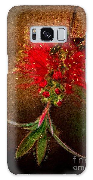 Bottle Brush Flower Galaxy Case