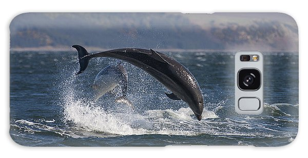 Bottlenose Dolphins - Scotland  #25 Galaxy Case