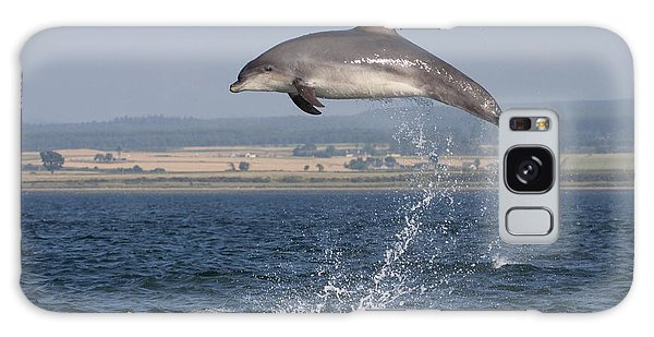 High Jump - Bottlenose Dolphin  - Scotland #42 Galaxy Case