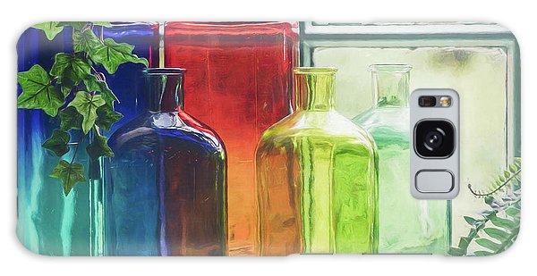 Bottles In The Window Galaxy Case