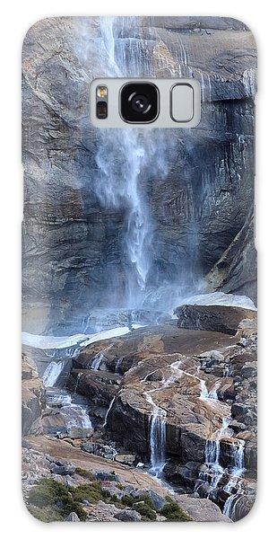 Bottom Part Of Upper Yosemite Waterfall Galaxy Case
