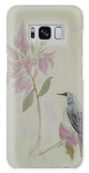 Bougainvillea And Mockingbird Galaxy Case