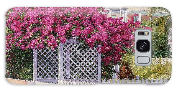 Eleuthera Art Galaxy Case - Bougainvillea Crown by Eddie Minnis