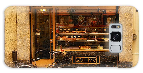 Boulangerie And Bike Galaxy Case