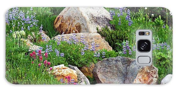 Boulder Blooms Galaxy Case