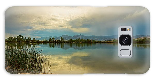 Galaxy Case featuring the photograph Boulder County Colorado Calm Before The Storm by James BO Insogna