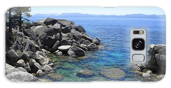 Boulder Cove On Lake Tahoe Galaxy Case