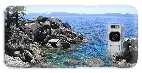 Boulder Cove On Lake Tahoe Galaxy Case