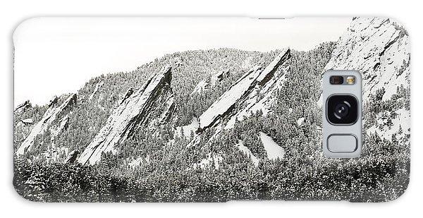 Boulder Flatirons Colorado 1 Galaxy Case