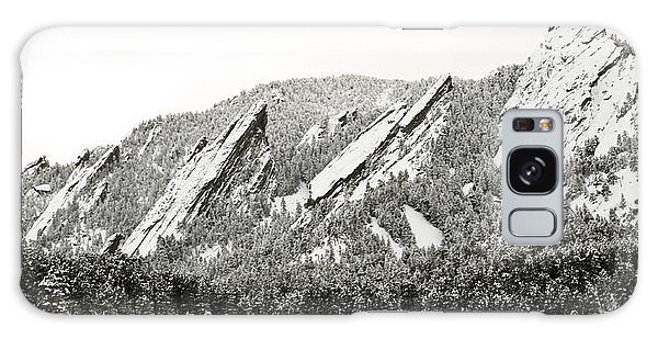 Boulder Flatirons Colorado 1 Galaxy Case