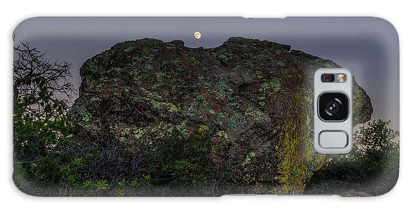 Boulder Moonrise Galaxy Case
