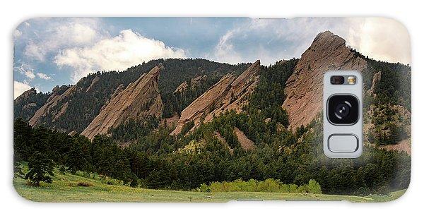 Boulder's Flatirons Galaxy Case