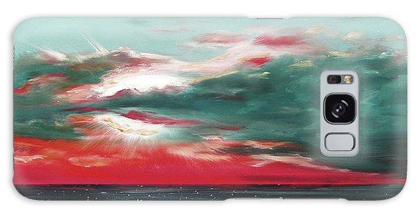 Bound Of Glory - Panoramic Sunset  Galaxy Case