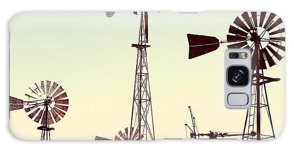 Bountiful Windmills Galaxy Case