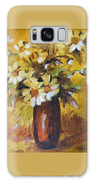 Bouquet Flowers Of Gold Galaxy Case