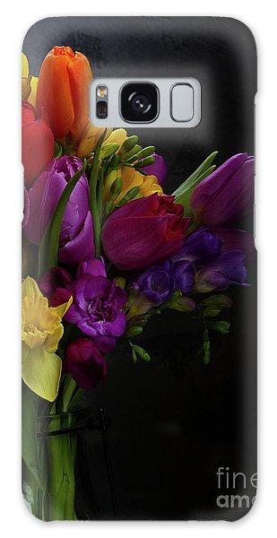 Flowers Dutch Style Galaxy Case by Anastasy Yarmolovich