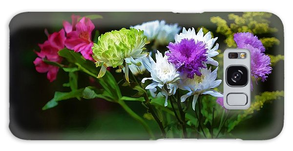 Bouquet Of Flowers Galaxy Case