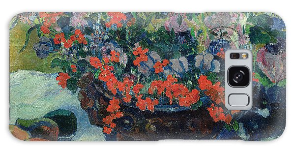 Bouquet Of Flowers Galaxy Case by Paul Gauguin