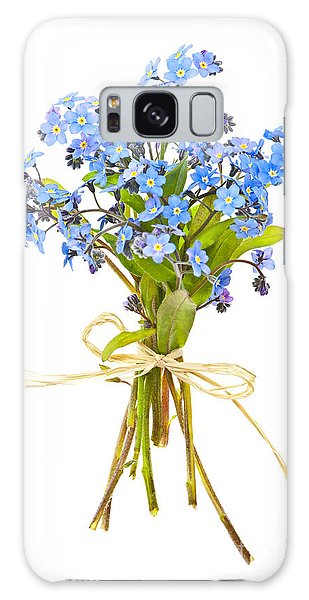 Bouquet Of Forget-me-nots Galaxy Case