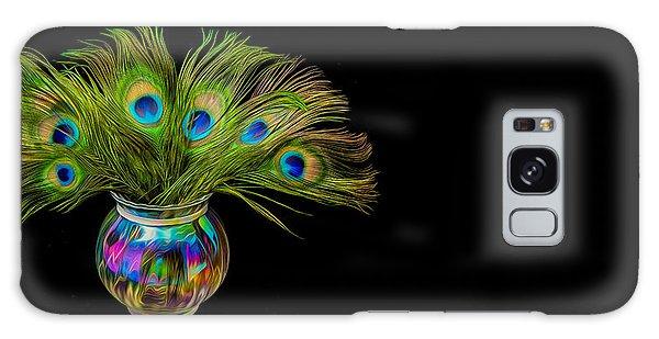Bouquet Of Peacock Galaxy Case