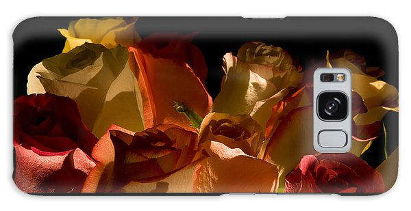 Bouquet Of Shadows Galaxy Case