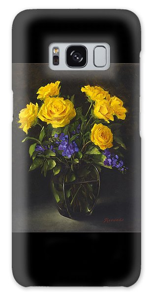 Bouquet Of Sunshine Galaxy Case
