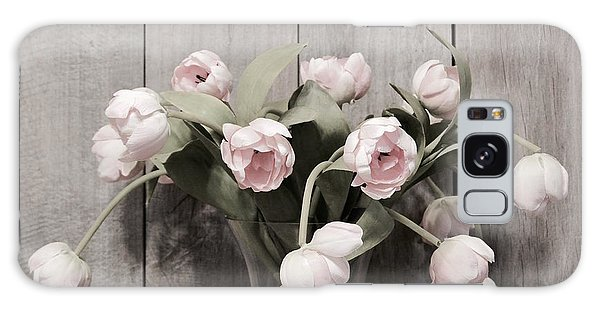 Bouquet Of Tulips Galaxy Case