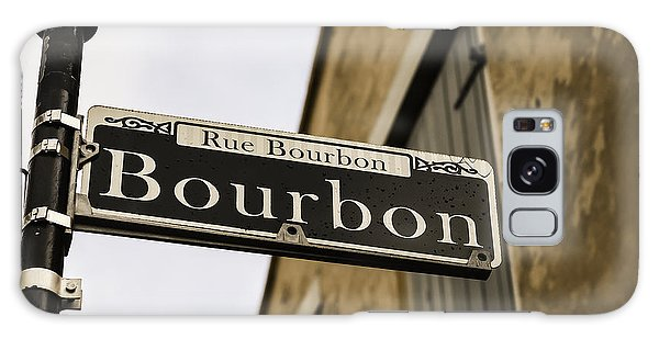 Bourbon Street, New Orleans, Louisiana Galaxy Case