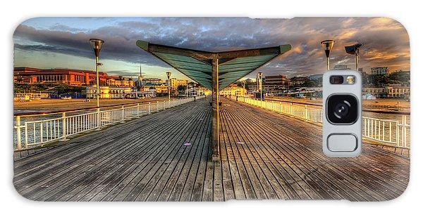 Bournemouth Pier Sunrise 2.0 Galaxy Case by Yhun Suarez