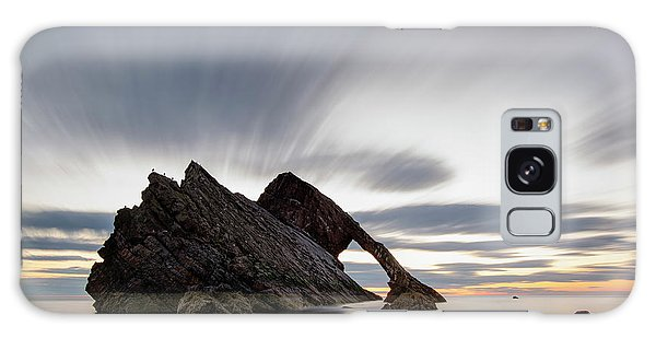 Bow Fiddle Rock At Sunrise Galaxy Case