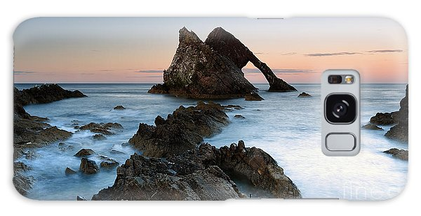 Bow Fiddle Rock At Sunset Galaxy Case