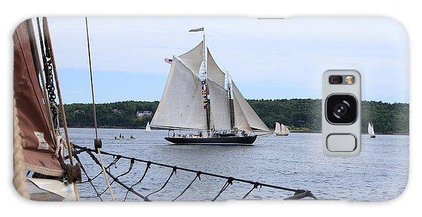 Bowditch Under Full Sail Galaxy Case