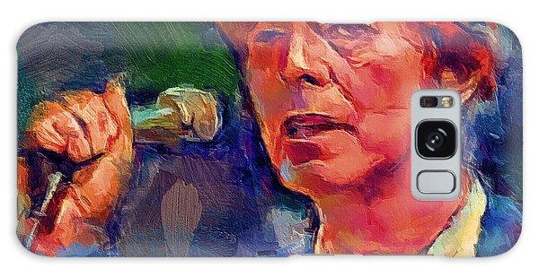 Bowie Singing 2 Galaxy Case